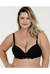 Sutiã Feminino Com Base Renda Plus Size Marisa
