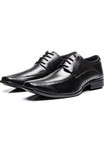 Sapato Social Coronello De Amarrar Preto