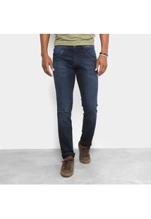 Calça Jeans Slim Fit Biotipo Masculina - Masculino-Jeans