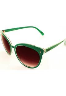 Óculos De Sol Drop Me Gatinho Verde