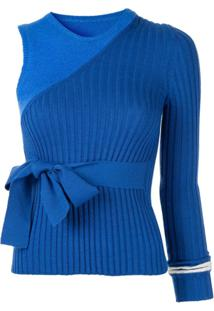 Maggie Marilyn Blusa I'M Halfway There - Azul