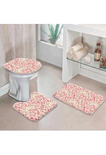 Jogo Tapetes Para Banheiro Elementos Páscoa