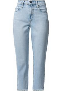 Nobody Denim Calça Jeans Cropped Kennedy - Azul