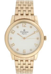 Relógio Champion Cn26779H Dourado