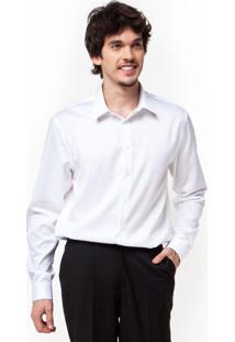 Camisa Calvin Klein Label Branca