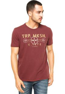 Camiseta Ellus Mskh Vinho