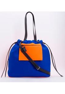 Bolsa Shopper Color Block
