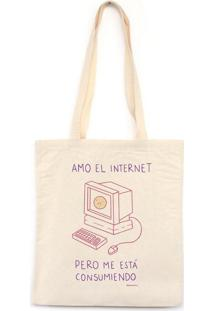 Amo El Internet - Bolsa De Lona