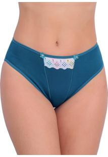 9bcf10a44 Dafiti. Tanga Verde Cotton Bordada ...