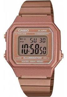 Relógio Casio Vintage B650Wc-5Adf Feminino - Feminino-Rosa