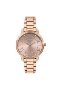 Relógio Condor Feminino Rose Analógico Co2035Mpo4J