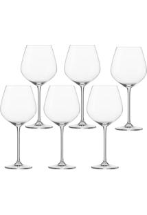 Taça De Vinho Borgonha Schott Fortissimo 6 Peças 727Ml - 21746