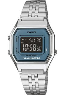 Relógio Casio La680Wa2Bdf Prata - Kanui