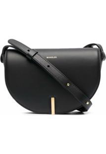 Wandler Nana Leather Shoulder Bag - Preto