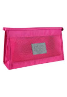 Necessaire De Viagem Em Poliéster Jacki Design Arh18690 Pink