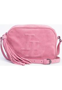 Bolsa Le Lis Blanc Lele Hot Pink Couro Rosa Feminina (Hot Pink, Un)