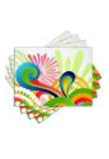Jogo Americano - Color Com 4 Peças - 052Jo