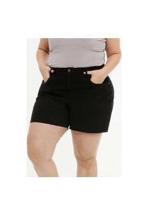 Short Plus Size Sarja Feminino Marisa