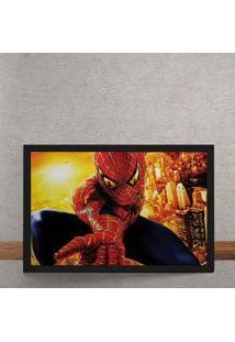 Quadro Decorativo Espetacular Homem Aranha 2 Marvel 25X35