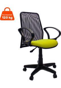 Cadeira De Escritã³Rio Diretor Fantasy Amarela