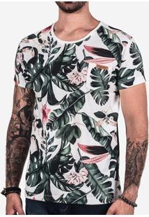 Camiseta Hermoso Compadre Folhas Masculina - Masculino