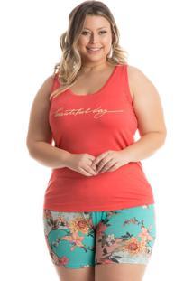 Pijama Jade Regata Laranja/Xg