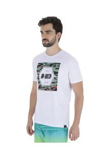 Camiseta Hd Military - Masculina - Branco