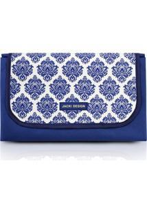 Tapete Para Piquenique Impermeável Tam. P Jacki Design Bella Vitta Azul