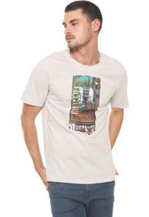 Camiseta Cavalera Nevermind Abelha Cinza