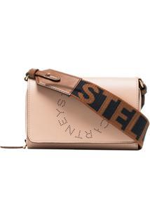Stella Mccartney Bolsa Transversal Com Logo - Rosa