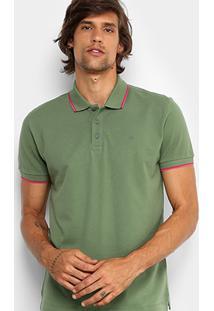 Camisa Polo Forum Piquet Frisos Color Masculina - Masculino