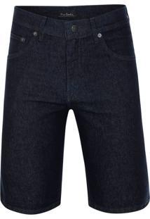 Bermuda Jeans Slim Índigo