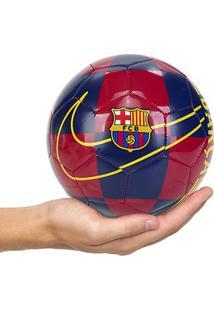 Mini Bola Futebol Nike Barcelona Skills - Unissex