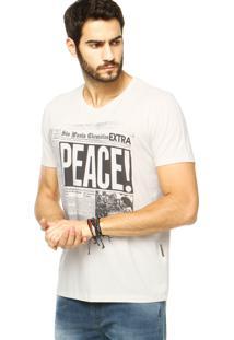 Camiseta Forum Reta Off-White