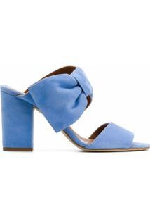 Paris Texas Sandália Com Detalhe De Laço - Azul
