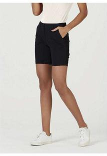 Bermuda Básica Feminina De Sarja Com Modelagem Chi