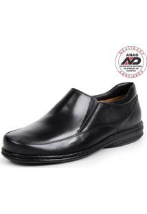 Sapato Masculino Opananken Diabetic'S Line Preto