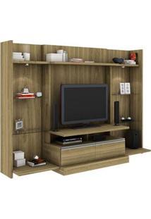 """Home Mademarcs Momento Com 2 Kits Laterais Para Tv'S Até 52"""""""