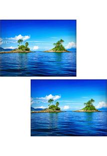 Jogo Americano Colours Creative Photo Decor - Ilhas Em Angra Dos Reis, Rj - 2 Peças