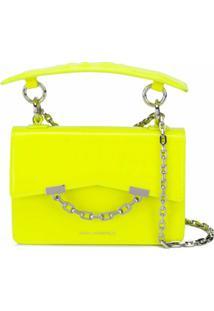 Karl Lagerfeld Bolsa Tiracolo K/Karl Seven Mini - Amarelo