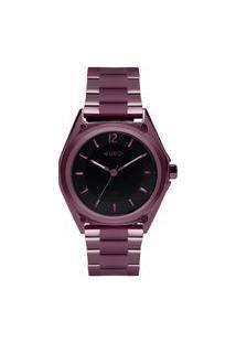 Relógio Euro Feminino Color Mix Geometric Roxo Eu2035Ypm/4P Eu2035Ypm/4P