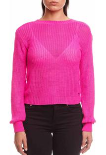 Blusa Sommer Tricot Pink