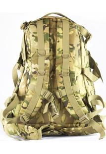 Mochila Tática Evo Tactical 3D Backpack Com Sistema Molle Bs028Mc