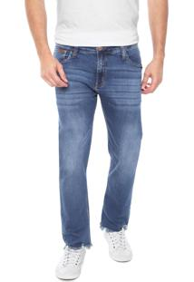 Calça Jeans Colcci Reta Rodrigo Azul