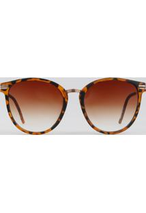 cd8f0a026 R$ 69,90. CEA Óculos De Sol Marrom Feminino Embutir Redondo De Sol Fosco ...
