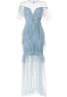 Alice Mccall Vestido De Festa Magicians Daughter - Roxo