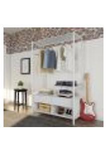 Guarda-Roupa Closet Modulado Badorc Branco