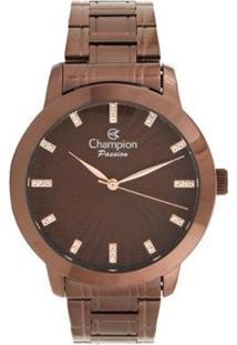 Relógio Champion Feminino - Feminino-Marrom