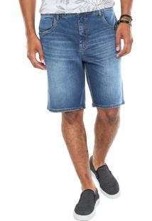 Bermuda Jeans Sommer Street Azul