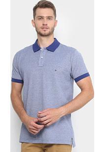 f3b7f07539 ... Camisa Polo Tommy Hilfiger Mescla Color Masculina - Masculino